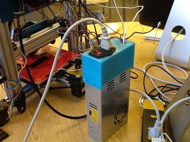 电源开关盖 3D打印模型渲染图