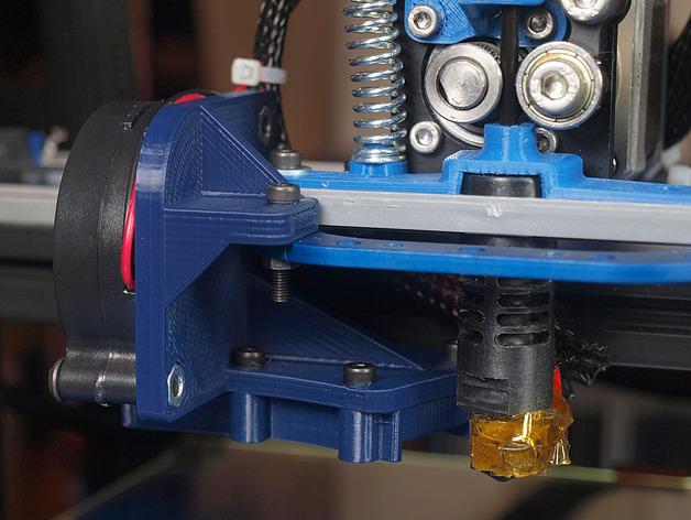 鼓风机 3D打印模型渲染图