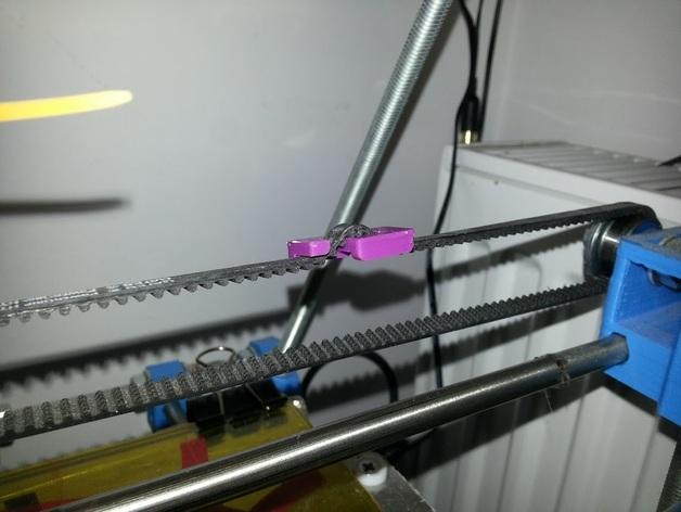 小型皮带张紧器 3D打印模型渲染图