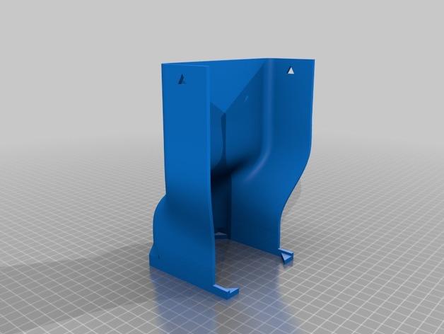 打印机外罩加热器整流罩