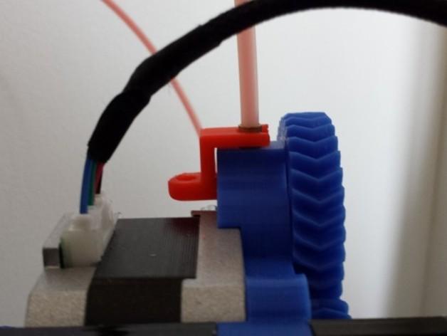 挤出机线材管固定器