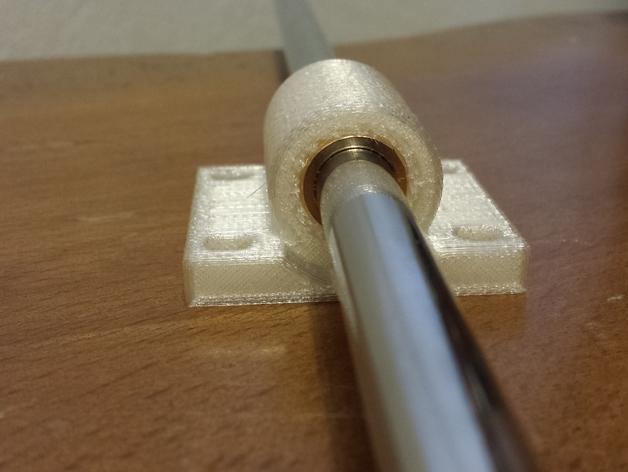轴承套管固定器 3D打印模型渲染图