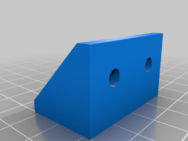 打印机的角托架