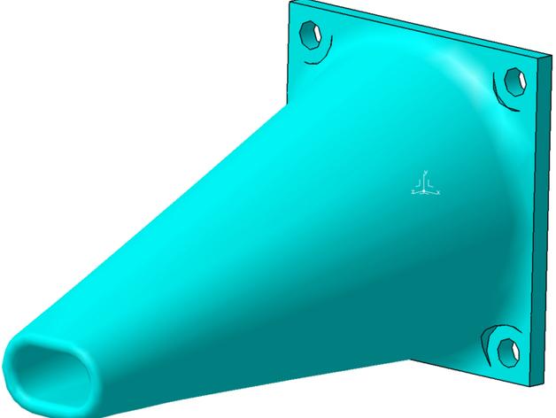 打印机喷头风扇 3D打印模型渲染图