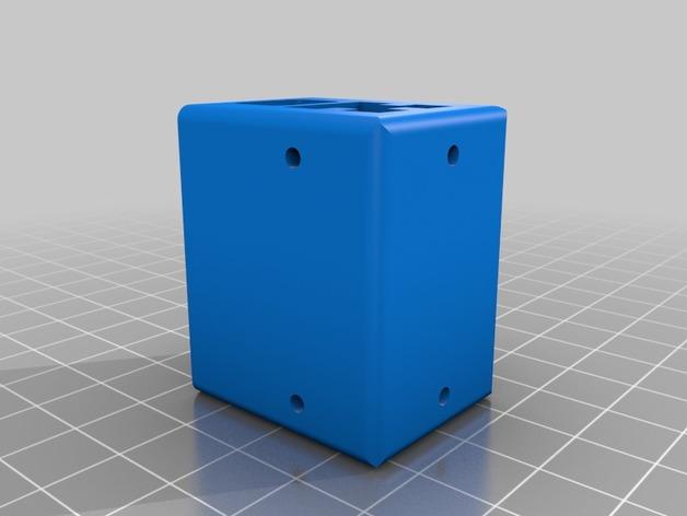 打印机的滑块 3D打印模型渲染图