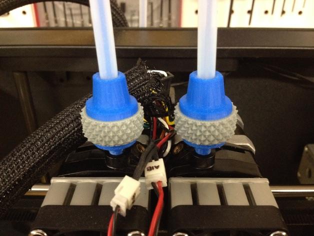 线材清洁器 3D打印模型渲染图