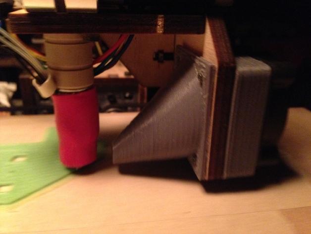 Printrbot Simple打印机的风扇通风导管