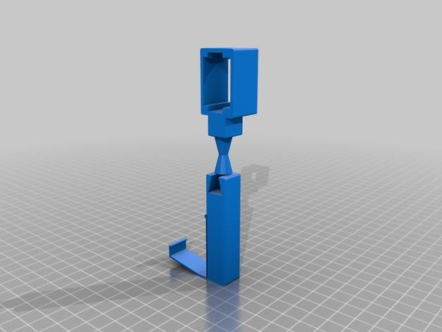 摄像头固定器 3D打印模型渲染图