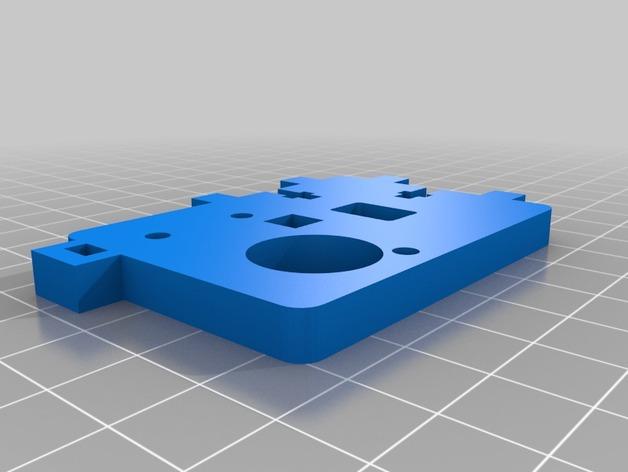 Printrbot打印机的挤出机支架