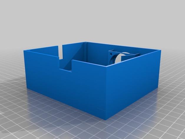 SmartRap电路板保护罩 3D打印模型渲染图