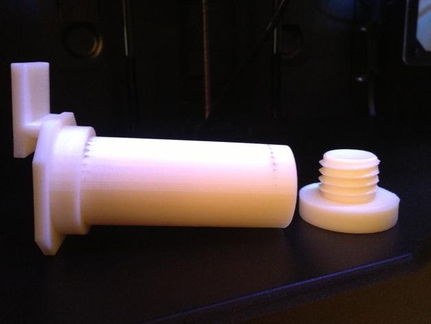 Replicator 2/2X打印机的线轴支架 3D打印模型渲染图