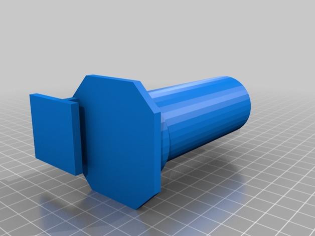Replicator 2/2X打印机的线轴支架