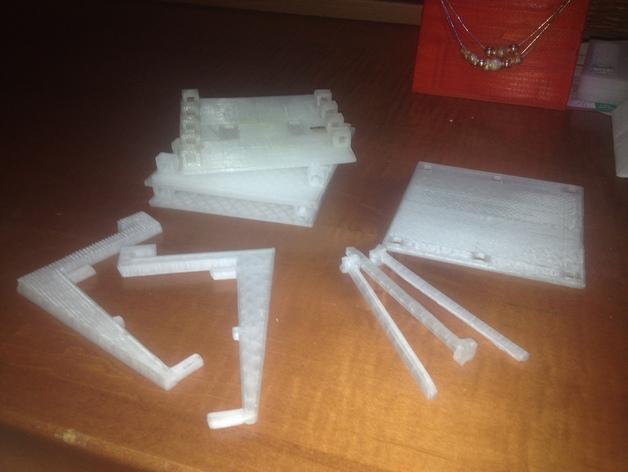 工具架 工具盒 3D打印模型渲染图