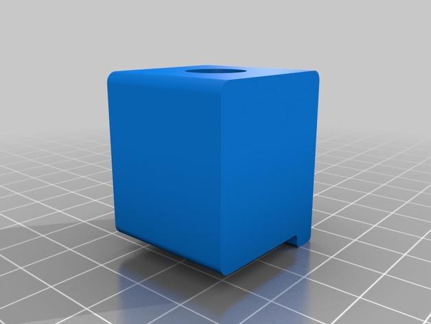 Makerbot Replicator 2打印机的SD卡收纳器