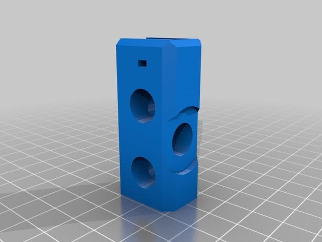 Prusa i3 打印机Y轴的连接器