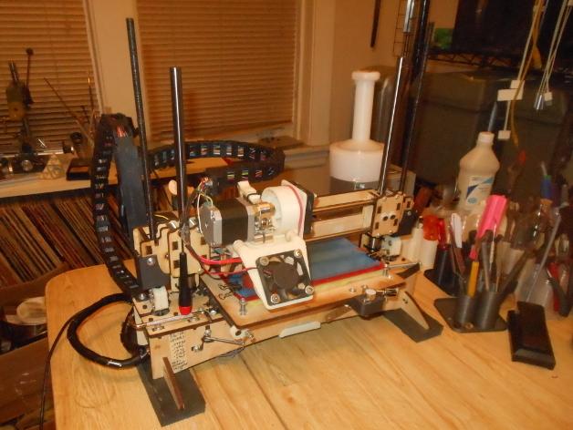 锚链支架 3D打印模型渲染图