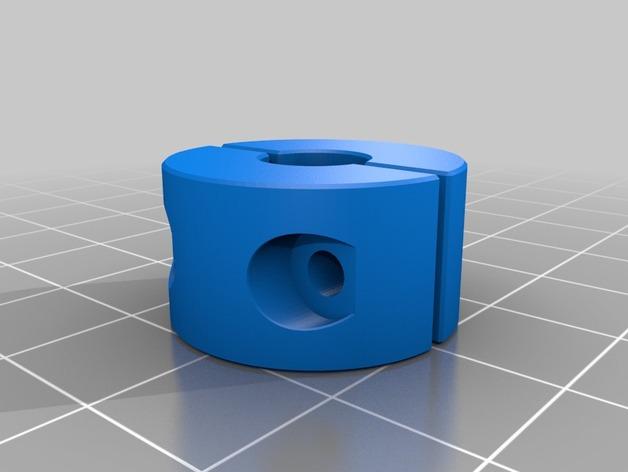 锁环 压圈 夹紧环 3D打印模型渲染图