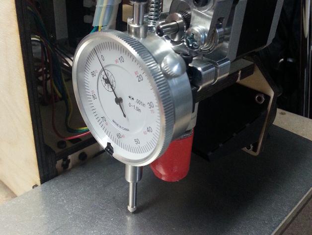 Printrbot Simple 仪表盘刻度仪支架 3D打印模型渲染图