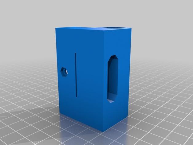 Prusa I3打印机X轴防震器