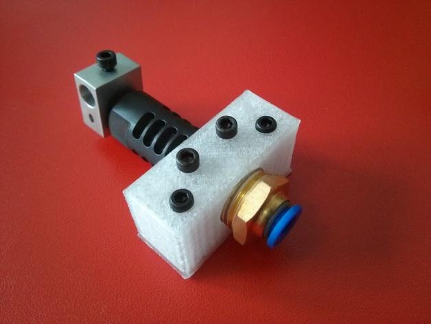 J-Head 式挤出机适配器 3D打印模型渲染图