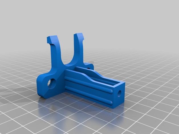 送料器支撑架 3D打印模型渲染图