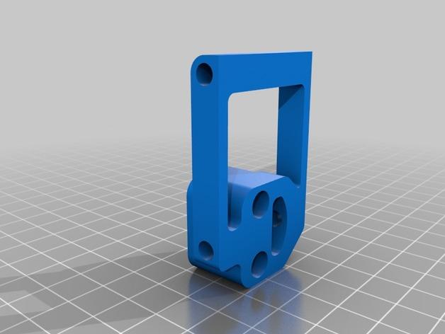 TBS万向接头支架 3D打印模型渲染图