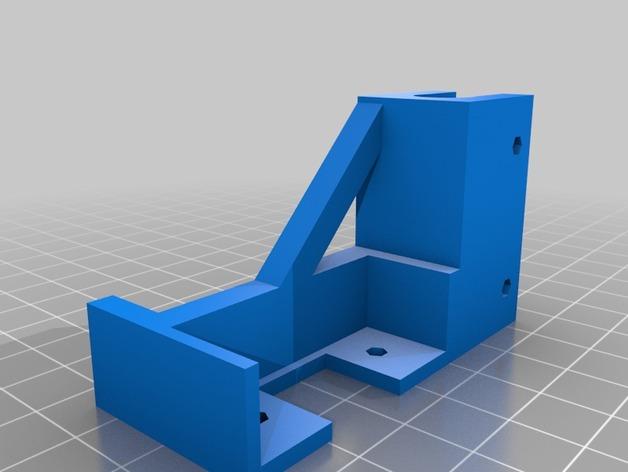 prusa i3打印机的USB支架