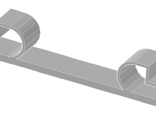 打印机悬浮垫 3D打印模型渲染图
