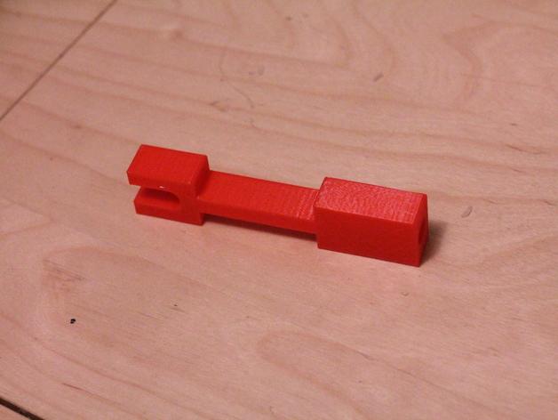 Printrbot Plus 打印机的材料支撑架