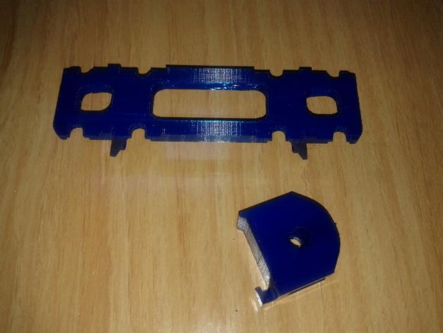 BCN3D+打印机的线轴支架