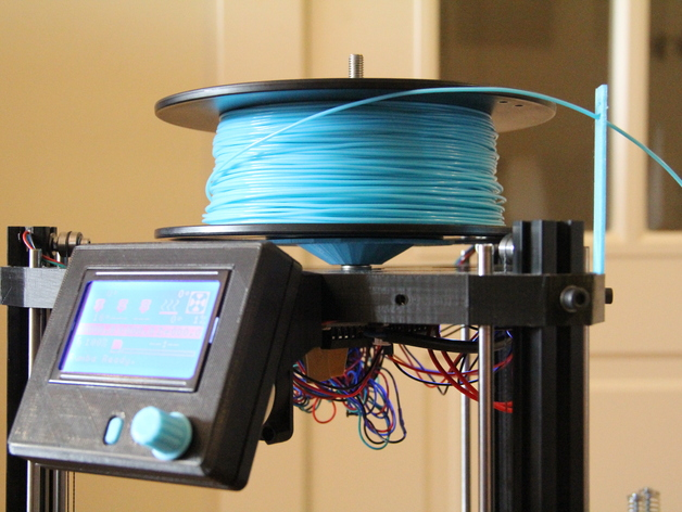 水平式线轴固定器· 3D打印模型渲染图
