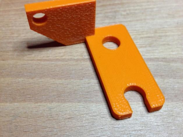 传感器 3D打印模型渲染图