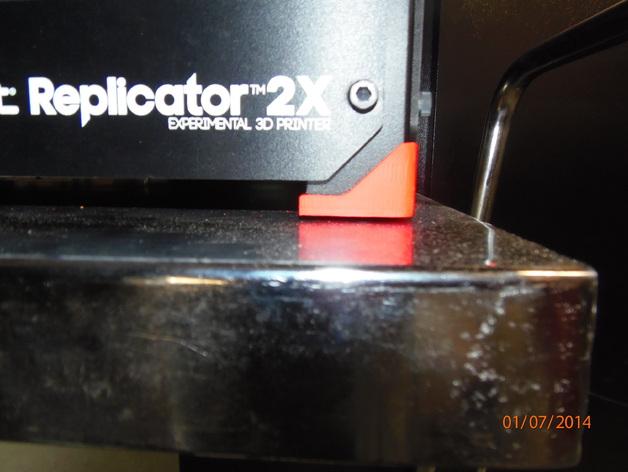 缓冲角垫 3D打印模型渲染图