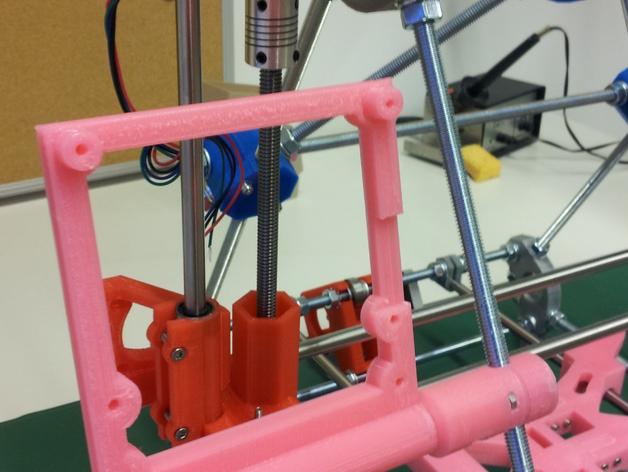 LCD适配器 3D打印模型渲染图