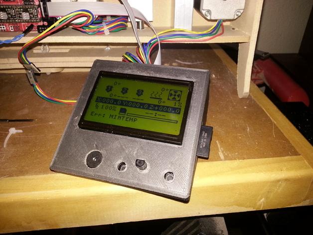 控制面板 3D打印模型渲染图
