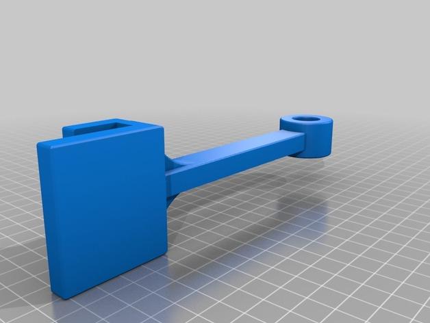 支座 3D打印模型渲染图