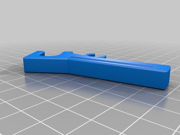 Prusa I3配件 3D打印模型渲染图
