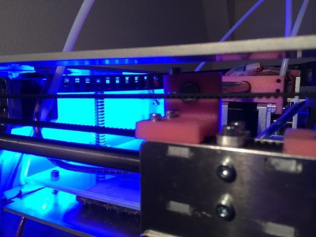 导杆 3D打印模型渲染图