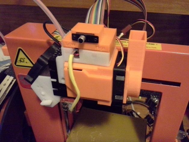 冷却器 3D打印模型渲染图