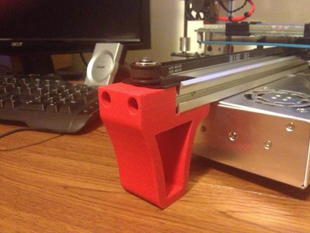Y轴拉紧器 3D打印模型渲染图