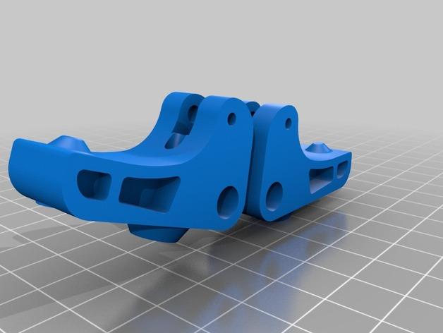 挤出器驱动 3D打印模型渲染图