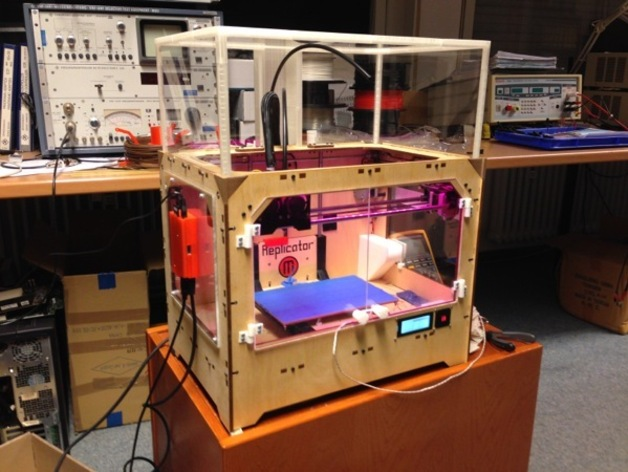 打印机外壳 3D打印模型渲染图