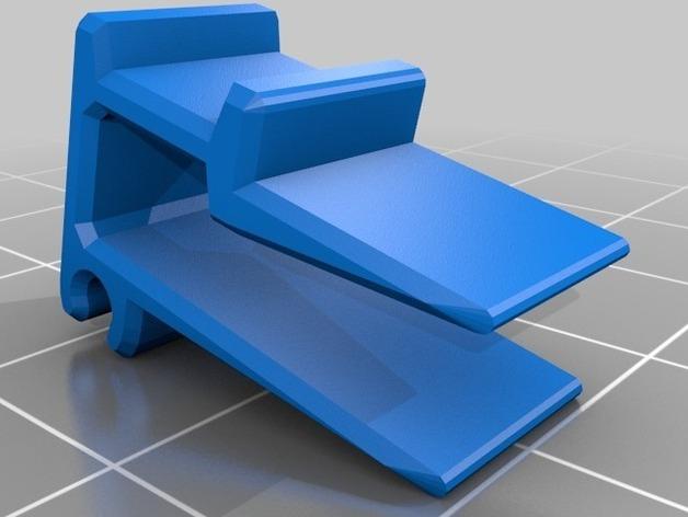 线丝夹 3D打印模型渲染图