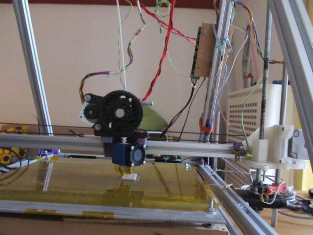 X轴适配器 3D打印模型渲染图