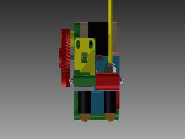 Prusa 3 挤出器