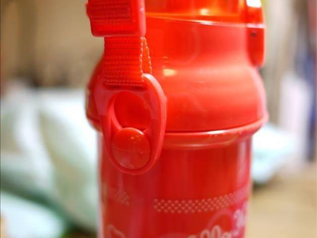 塑料瓶扣环 3D打印模型渲染图
