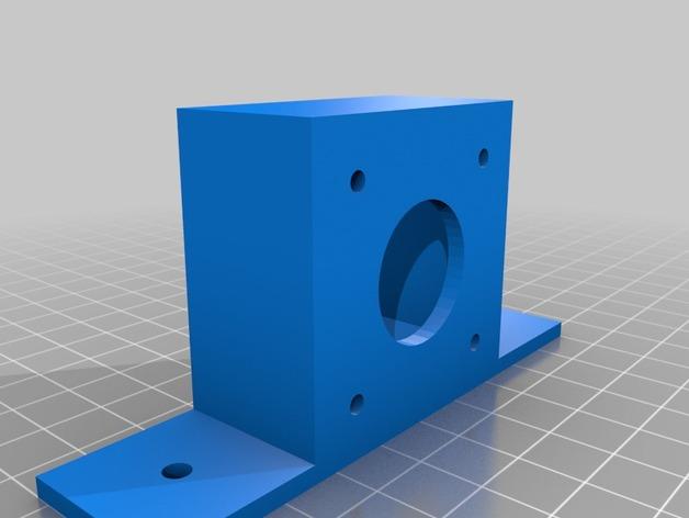 NEMA17  3D打印模型渲染图