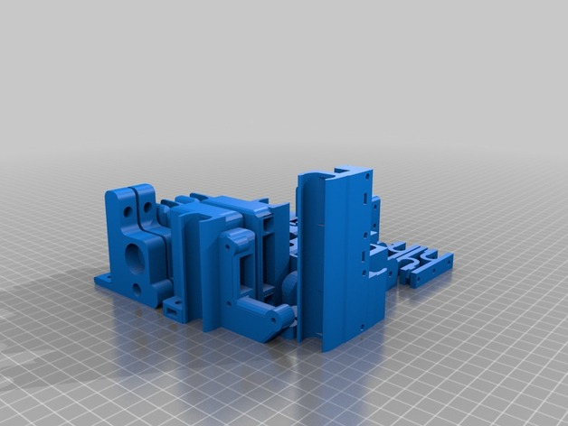 Prusa i3 板 3D打印模型渲染图