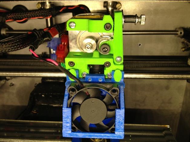 挤出机 MK3 3D打印模型渲染图