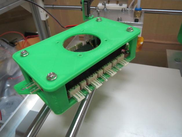 Sanguinololu 保护壳 3D打印模型渲染图